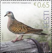 Estonia - Turtledove - Mint stamp