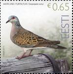 Estland - Turteldue - Postfrisk frimærke