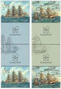 Åland - Sejlskibe - Postfrisk sæt gutterpairs
