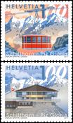 Switzerland - Schilthorn summit - Mint set 2v