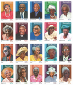Barbados - Personligheder - Postfrisk sæt 20v