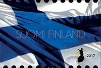 Finland - Finsk nationalflag - Postfrisk frimærke