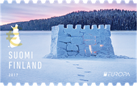 Finland - Snow castle - Europa 2017 - Mint stamp