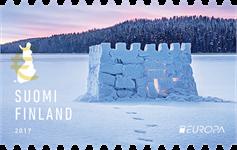 Finland - Sne slot - Europa 2017 - Postfrisk frimærke