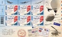 Schweiz - Luftpost - Postfrisk ark