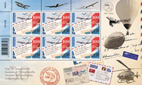 Switzerland - Air mail - Mint sheetlet