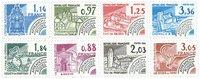 France 1981/2 - YT 170-77 - Préoblitérés
