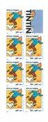 Frankrig - Tintin - Postfrisk frimærkehæfte