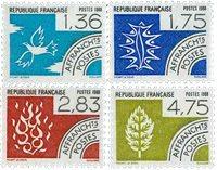 Frankrig - YT 198-201 - Forudannulleret