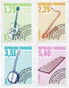 Frankrig - YT 224-27 - Postfrisk