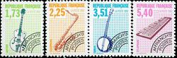 France - YT PO224-27 - Préoblitéré