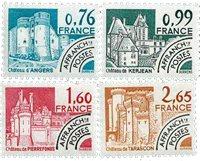Frankrig - YT 166-69 - Forudannulleret