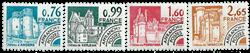 France - YT PO166-69 - Préoblitéré