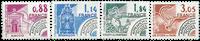 Frankrig - YT 170-73 - Forudannulleret