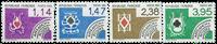 Frankrig - YT 182-85 - Forudannulleret