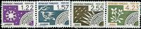 Frankrig - YT 186-89 - Forudannulleret