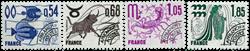 France - YT PO146-149 - Préoblitéré