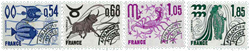 France - YT  146-149 - precancelled