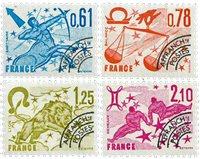 France - YT PO154-57 - Préoblitéré