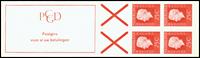 Holland - frimærkehæfte 9a