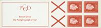 Holland - frimærkehæfte 9b