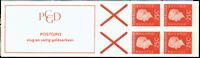 Holland - frimærkehæfte 9e