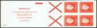 Holland - frimærkehæfte 9h