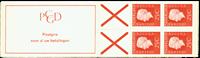 Holland - frimærkehæfte 9aF