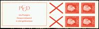 Holland - frimærkehæfte 9cF