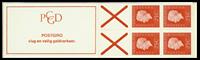 Holland - frimærkehæfte 9eF