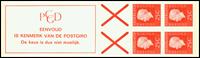 Holland - frimærkehæfte 9fF