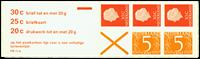 Holland - frimærkehæfte 11bF