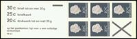 Holland - frimærkehæfte 6 fFp