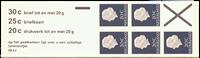 Holland - frimærkehæfte 6fFq