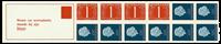 Holland - frimærkehæfte 8 cF