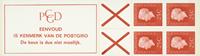Holland - frimærkehæfte 9f