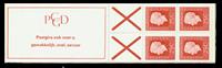 Holland - frimærkehæfte 9dF