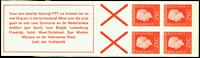 Holland - frimærkehæfte 9gF