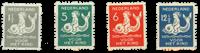 Pays-Bas 1929 - NVPH R82-R85 - Neuf