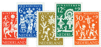 Holland 1961 - NVPH 759-763 - Postfrisk