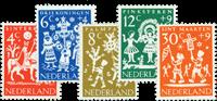 Nederland 1961 - Nr. 759-763 - Postfris