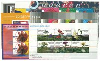 Nederland Zomerzegels - Ouderenzegels 1995-2001 blokken, compleet - Postfris
