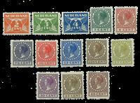 Tweezijdige roltanding 1926-1927 - Nr. R19-R31 - Postfris