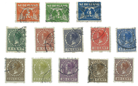 Netherlands 1926-1927 - NVPH R19-R31 - Cancelled