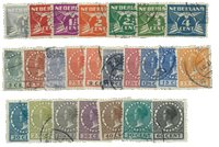 Holland 1928 - NVPH R33-R56 - Stemplet