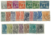 Netherlands 1928 - NVPH R33-R56 - Cancelled
