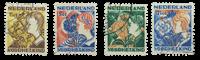 Holland 1932 - NVPH R94-R97 -  Stemplet