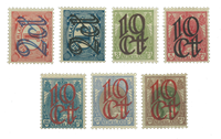 Holland 1923 - NVPH 114-120 - Postfrisk
