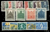 Nederland - Zomerzegels 1941-1949 postfris, compleet