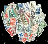 Frankrig - Årgang 1958 - Postfrisk